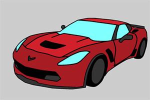 美国汽车图画册