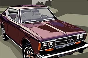 古董汽车拼一拼