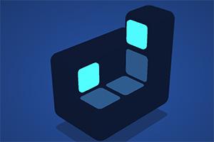 旋轉的正方體2