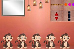 逃离猴子主题屋