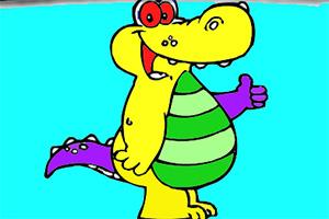 短吻鳄图画册