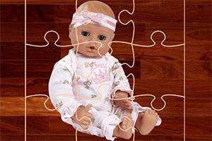 婴儿娃娃拼图