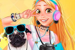 公主与宠物摄像赛