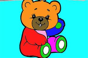 卡通小熊图画册