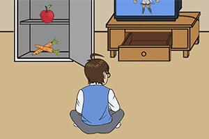 爸爸不给幸运分分彩技巧看电视