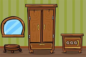 逃离木质屋子