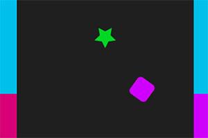 彩色立方块跳跃