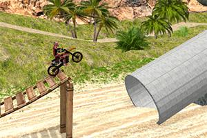野外摩托挑战赛