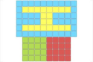 色彩几何覆盖