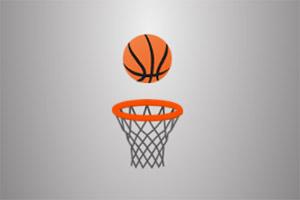 篮框接篮球