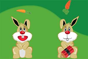 快乐的兔子