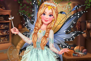 漂亮的精灵公主