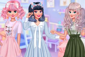 可爱风的公主们