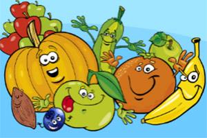 新鲜蔬果找不同