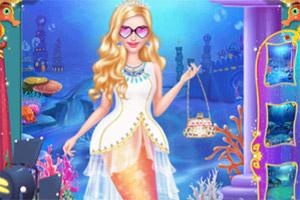 人鱼公主时尚妆容