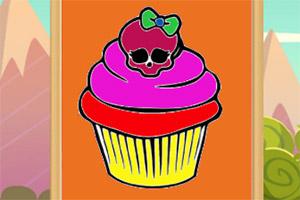 甜点蛋糕图画册