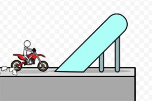 迷你摩托车挑战赛