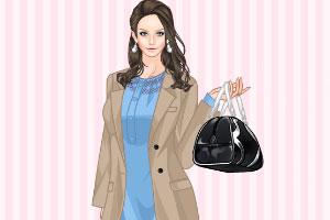 时尚模特琪莉