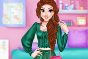 公主的春装