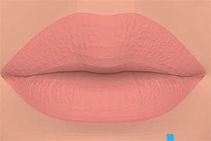 美��唇彩化�y